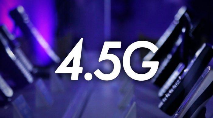 ¿Qué tan rápido es el 4.5G frente al 4G?