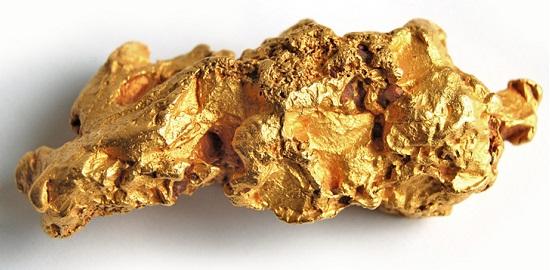 Bacteria convierte la materia en oro de 24 kilates