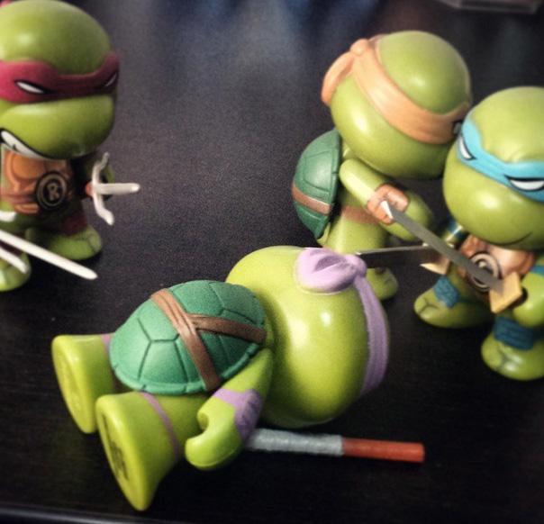 Donatello Tmnt Muerto