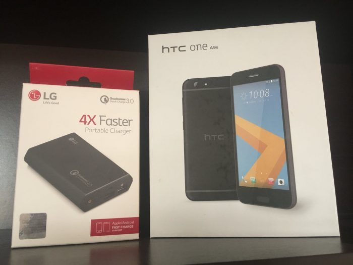 Ganador HTC One A9s y LG Portable Charger
