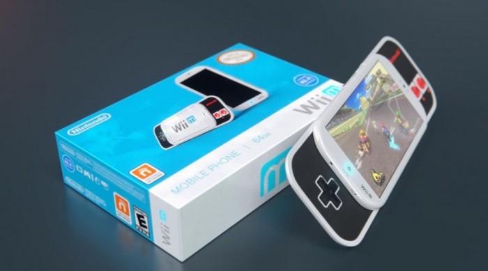 Así sería posiblemente el teléfono de Nintendo, el Wii M