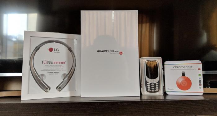 Perusmart te regala un Nokia 3310, LG Tone Infinim, Chromecast 2 y un pack sorpresa del Huawei P20