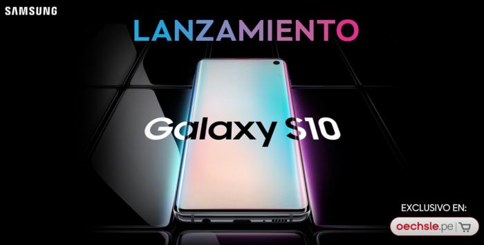 Retails locales también anuncian disponibilidad del Galaxy S10