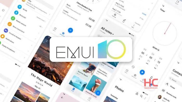 Estos son los smartphones de Huawei y Honor que recibirían EMUI 10