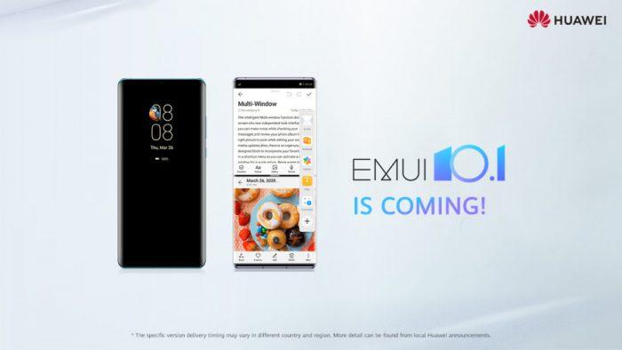 EMUI 10.1: Lista de smartphones compatibles de Huawei y Honor