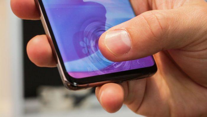 Galaxy S10: Fallo de seguridad permitiría acceso con cualquier huella
