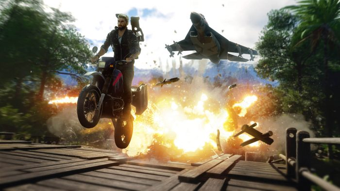 Just Cause 4 y Wheels of Aurelia están gratis por cuarentena