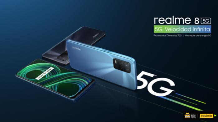 realme 8 5G: Cinco motivos que lo convierte en el móvil 5G más accesible del año