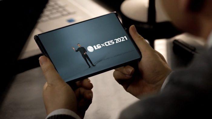 CES 2021: Así es el LG Rollable, el primer smartphone plegable de LG