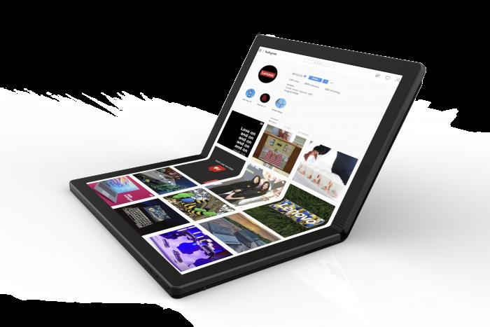 Lenovo presenta preview de la 1era PC plegable del mundo ThinkPad X