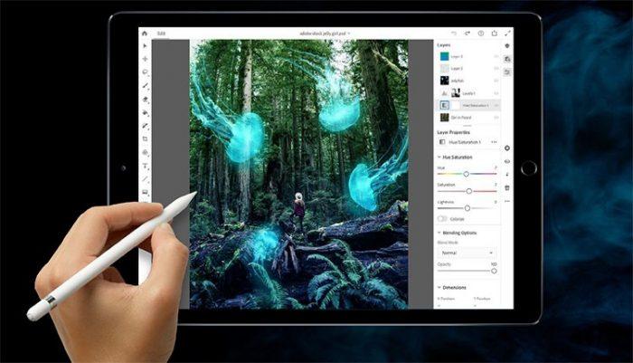 Photoshop para iPad no tendrá algunas funciones claves durante su lanzamiento