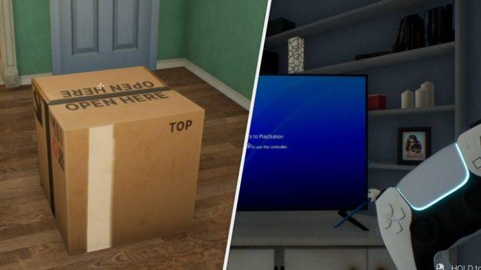 Este simulador te permitirá hacer un unboxing a la PlayStation 5