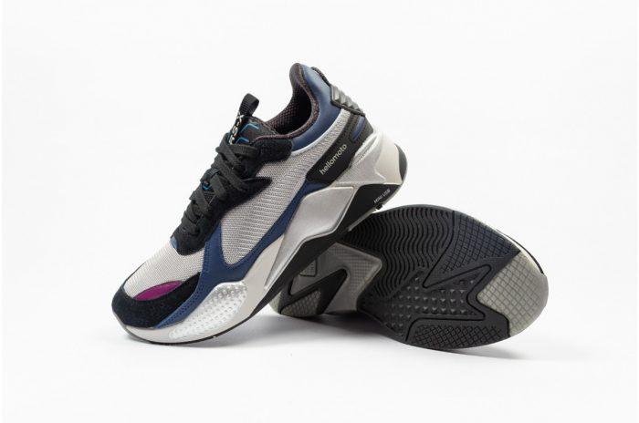Puma y Motorola se unen para lanzar las zapatillas RS-X-Retro