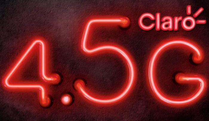 Logo «4.5G» de Claro Brasil genera polémica por supuestamente tratar de confundir a usuarios
