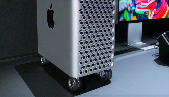 Mac Pro: Apple vende las ruedas a $699 y las patitas a $299