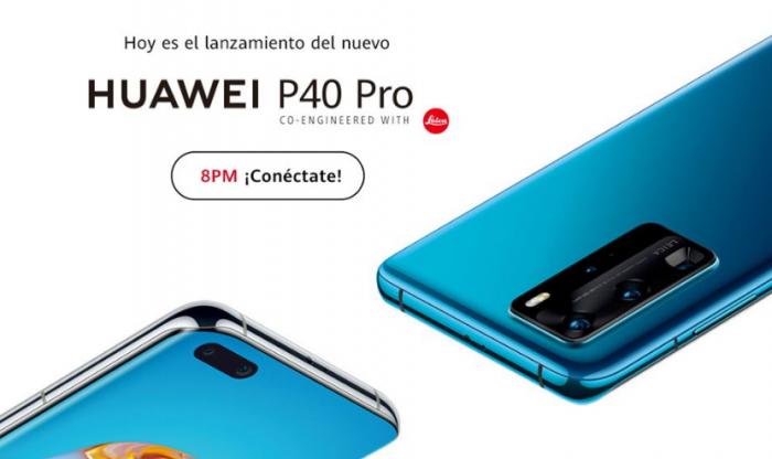 Sigue el lanzamiento del P40 Pro de Huawei en vivo