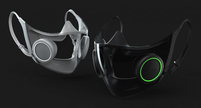 (Video) Razer lanza mascarilla de protección con luces RGB