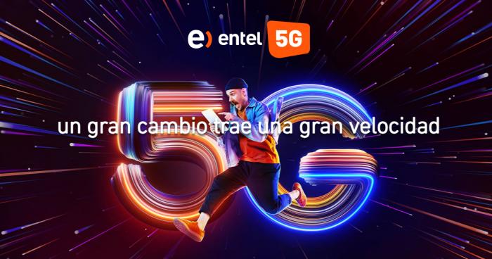 Entel anuncia oficialmente su 5G