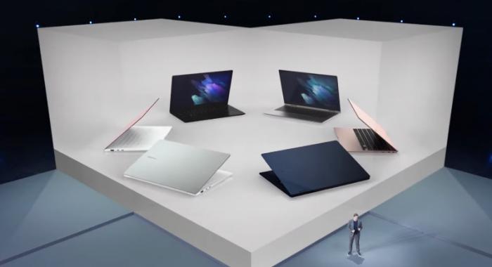 Samsung presenta 4 nuevas laptops con pantallas AMOLED para todas las necesidades
