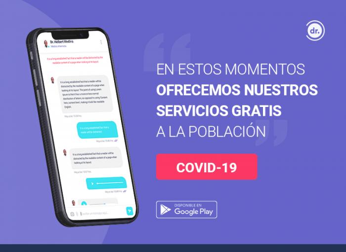 SmartDoctor: app reúne médicos que atienden GRATIS a personas con sospecha de COVID-19