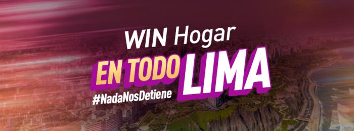 Esta será la cobertura de la fibra óptica de WIN en Lima Metropolitana y Callao