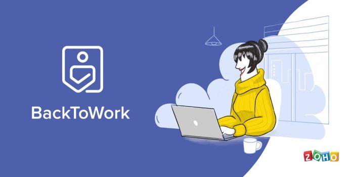 Zoho back to work: Una app para empresas y su regreso al trabajo
