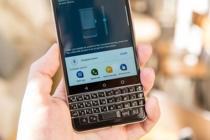 El BlackBerry KEYOne llegará a Sudamérica