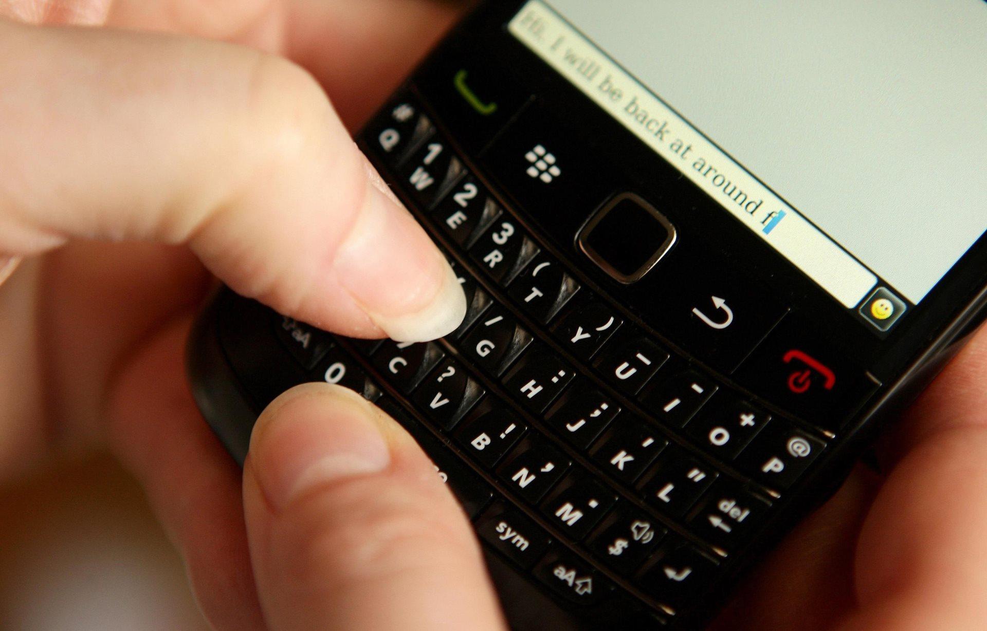 Cuando todos soñábamos con tener un BlackBerry