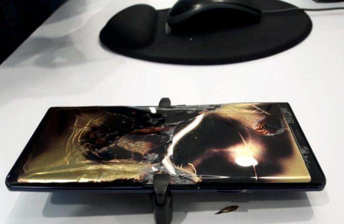 Samsung se manifiesta luego que un Galaxy Note 9 se incendiara en el Jockey Plaza