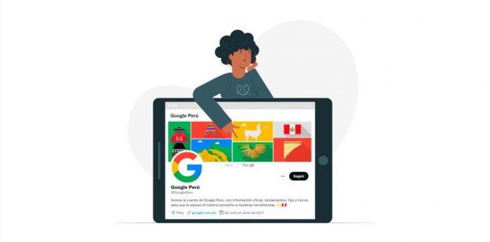 Google Perú abre su primera cuenta oficial y elige Twitter