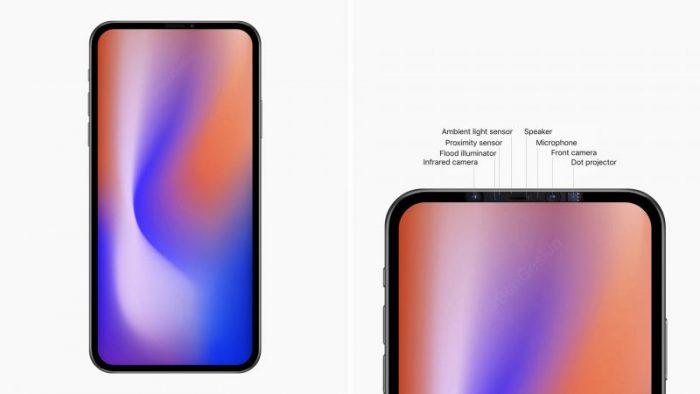Apple eliminaría el notch en los iPhone de 2020
