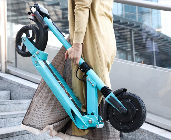 KUGOO S1, el scooter eléctrico que promete recorrer 30 km con una sola carga