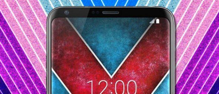 Así se verá el LG V30 con su pantalla OLED curvada