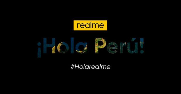 realme llega a Perú de forma oficial en los próximos días