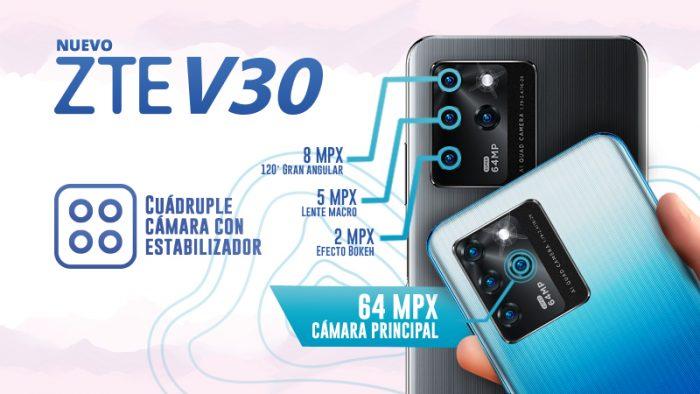 NP – ZTE V30, el smartphone que llegó para cambiar los límites