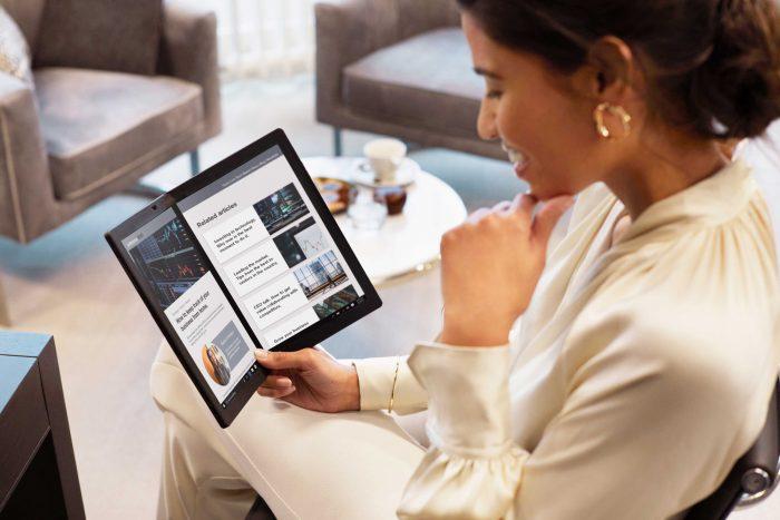 NP – Lenovo ThinkPad X1 Fold: la primera laptop plegable del mundo llega a Perú