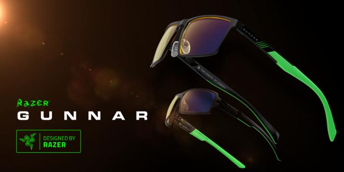 Gunnar se alía con Razer para presentar nuevas gafas para gamers