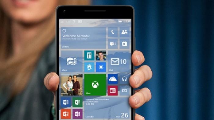 Los primeros smartphones con Windows 10 llegarán en la IFA de Berlín