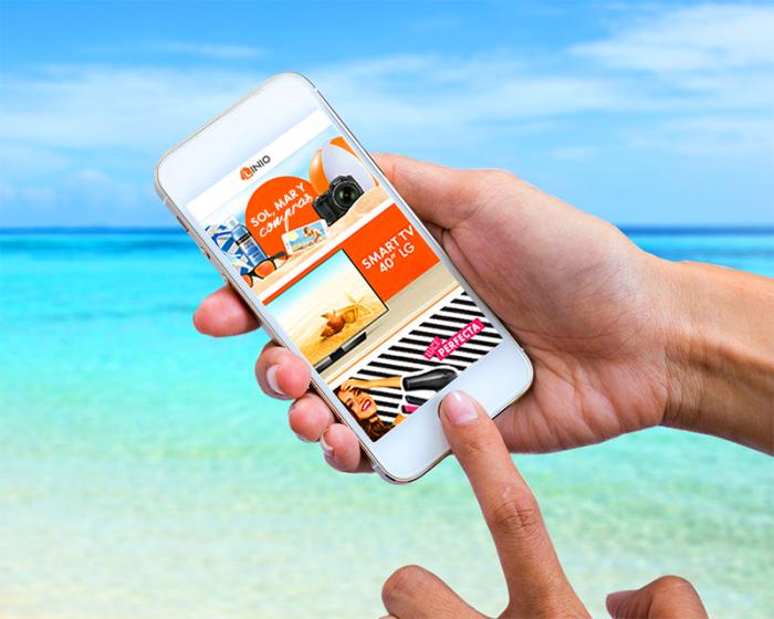 [Nota de Prensa] ¿Ir de compras desde la playa y con tu celular? Conoce 5 ventajas que ya nos ofrece el e-commerce en el Perú