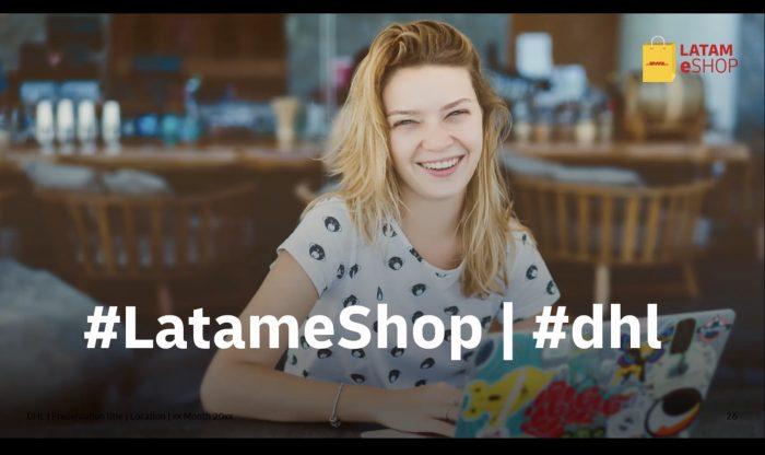 Lanzamiento oficial de eShopLatam de DHL y Nota de Prensa