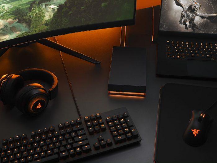 Mejore su experiencia de juego en PC con la nueva línea de almacenamiento de disco duro externo FireCuda de alta capacidad y diseño estilizado de Seagate