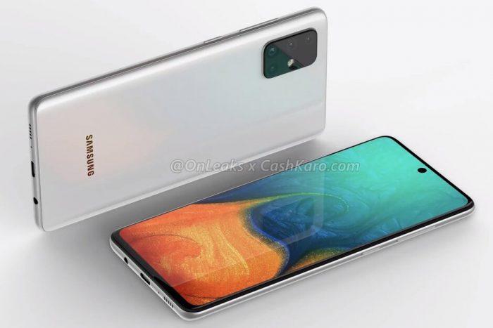 El Galaxy A71 se ha filtrado mostrando 4 cámaras y un diseño conocido