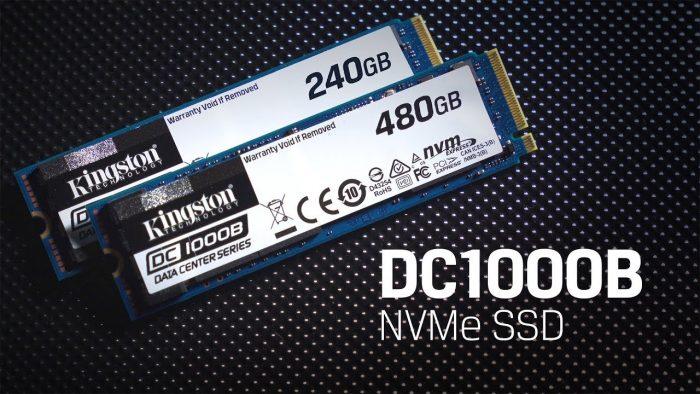 Kingston DC1000B, nuevo SSD NVMe empresarial para centros de datos