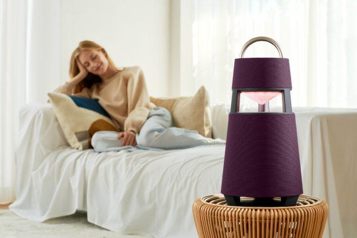 LG presenta XBOOM 360 con sonido premium y diseño elegante