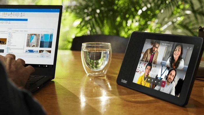 NP – ThinkSmart View: nuevo dispositivo de Lenovo para la colaboración en el trabajo remoto