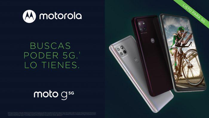 Motorola y Claro anuncian la llegada al Perú del nuevo moto g 5G