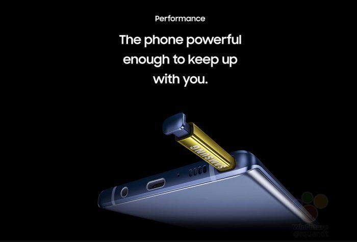 El Galaxy Note9 llegará con dos regalos de preventa, uno es de Fortnite
