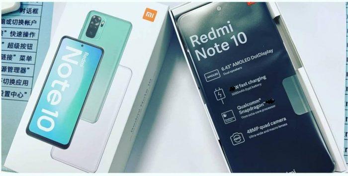 Redmi Note 10: fotos filtradas revelan características y diseño
