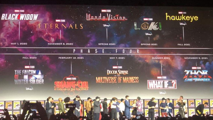Marvel: Estas son todas las películas de la próxima fase del MCU