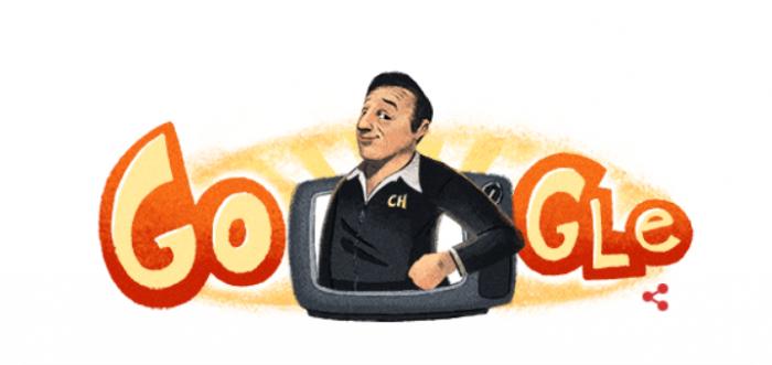 Google conmemora a Chespirito con Doodle por su cumpleaños
